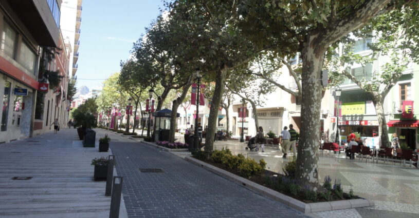 Passeig Germanies. Gandia